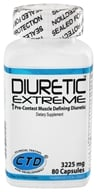 CTD Labs - Diuretic Extreme Pre-Contest Muscle Defining Diuretic 3225 mg. - 80 Capsules, from category: Sports Nutrition