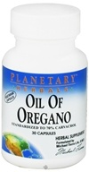 Planetary Herbals - Oil Of Oregano - 30 Vegetarian Capsules - $6.81