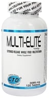 CTD Labs - Multi-Elite Extended Release Whole Food Multivitamin 3085 mg. - 120 Capsules, from category: Sports Nutrition