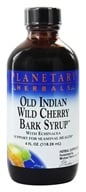 Planetary Herbals - Old Indian Wild Cherry Bark Syrup With Echinacea - 4 oz. by Planetary Herbals