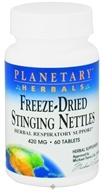 Planetary Herbals - Stinging Nettles Freeze-Dried 420 mg. - 60 Tablets by Planetary Herbals