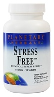 Planetary Herbals - Stress Free 810 mg. - 90 Tablets - $10.40