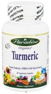 Paradise Herbs - Turmeric Truly Holistic 150:1 Full Spectrum - 60 Vegetarian Capsules, from category: Herbs