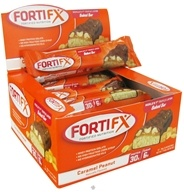 Image of Fortifx - Triple Layer Baked Bar Caramel Peanut - 95 Grams