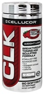 Image of Cellucor - CLK Weight Loss Breakthrough Toning and Sculpting Formula Raspberry - 90 Softgels