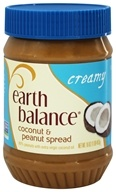 Image of Earth Balance - Coconut and Peanut Spread Creamy - 16 oz.