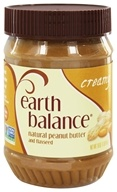 Image of Earth Balance - Natural Peanut Butter and Flaxseed Creamy - 16 oz.
