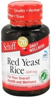 Schiff - Red Yeast Rice 600 mg. - 60 Tablets