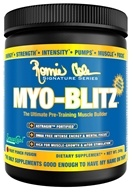Ronnie Coleman Signature Series - Myo-Blitz Ultimate Pre-Training Muscle Builder Fruit Punch Fusion - 240 Grams