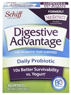Schiff - Digestive Advantage Daily Probiotic - 30 Capsules (formerly Sustenex) (815066001669)