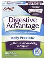 Schiff - Digestive Advantage Daily Probiotic - 30 Capsules (formerly Sustenex) by Schiff
