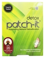 NutriWorks - Detox Patch-It Supporting Natural Detoxification - 20 Patch(es), from category: Detoxification & Cleansing