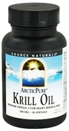 Source Naturals - ArcticPure Krill Oil 500 mg. - 30 Softgels