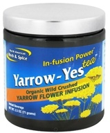 North American Herb & Spice - Yarrow-Yes Infusion Power Tea - 2.5 oz. CLEARANCE PRICED by North American Herb & Spice