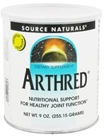 Source Naturals - Arthred Powder - 9 oz. by Source Naturals