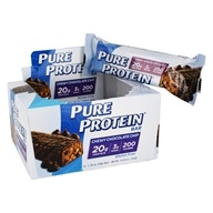 Pure Protein - High Protein Bar Chewy Chocolate Chip - 6 x 1.76 oz. Bars