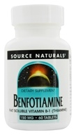 Image of Source Naturals - Benfotiamine 150 mg. - 60 Tablets