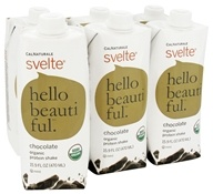 Cal Naturale - Svelte Organic Protein Drink 6 x 15.9 oz RTD Chocolate - 6 Pack, from category: Sports Nutrition