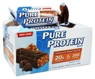 Pure Protein - High Protein Bar Chocolate Peanut Butter - 6 x 1.76 oz. Bars (749826138015)