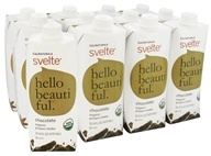 Cal Naturale - Svelte Organic Protein Drink 12 x 15.9 oz RTD Chocolate - 12 Pack, from category: Sports Nutrition