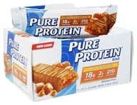 Pure Protein - High Protein Bar Peanut Butter Caramel Surprise - 6 x 2.01 oz. Bars