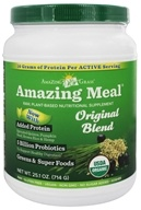 Amazing Grass - Amazing Meal Powder 30 Servings Original Blend - 23.6 oz. by Amazing Grass
