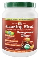 Image of Amazing Grass - Amazing Meal Powder 30 Servings Pomegranate Mango Infusion - 31 oz.