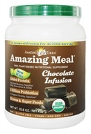 Amazing Grass - Amazing Meal Powder 30 Servings Chocolate Infusion - 34.2 oz. - $54.99