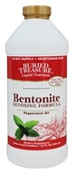 Buried Treasure Products - Bentonite Detoxing Formula Peppermint Oil - 32 oz.