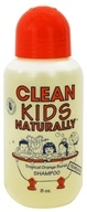 Clean Kids Naturally - Tearless Shampoo Tropical Orange Burst - 8 oz.