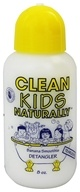 Image of Gabriel Cosmetics Inc. - Clean Kids Naturally Detangler Banana Smoothie - 8 oz.