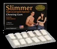 Neutralean - Slimmer Weight Loss and Appetite Suppressant Chewing Gum Mint Burst Flavor - 12 Piece(s) (Formerly Natural Burst)