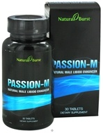 Neutralean - Passion-M Natural Male Libido Enhancer - 30 Tablets (Formerly Natural Burst)