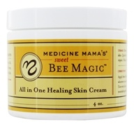 Medicine Mama's - All in One Healing Skin Cream - 4 oz. Formerly Sweet Bee Magic by Medicine Mama's