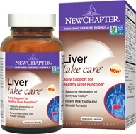 Image of New Chapter - Liver Take Care - 60 Vegetarian Capsules