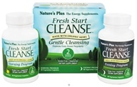 Nature's Plus - Fresh Start Cleanse Morning and Evening System - 2 Week Program CLEARANCE PRICED, from category: Detoxification & Cleansing