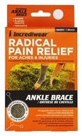 Incrediwear - Radical Pain Relief Ankle Brace Unisex Small/Medium Men Size 4-8.5 Women 5-9.5
