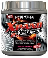 Dymatize Nutrition - Xpand 2x Muscle Igniter Pre-Workout Formula Bonus Size 10% More Fruit Punch - 0.88 lbs. by Dymatize Nutrition