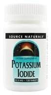 Image of Source Naturals - Potassium Iodide 32.5 mg. - 120 Tablets