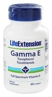 Life Extension - Gamma E Tocopherols/Tocotrienols - 60 Softgels