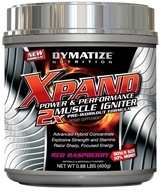 Dymatize Nutrition - Xpand 2x Muscle Igniter Pre-Workout Formula Bonus Size 10% More Red Raspberry - 0.88 lbs. by Dymatize Nutrition