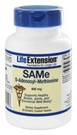 Life Extension - SAMe S-Adenosyl-Methionine 400 mg. - 50 Enteric-Coated Tablets by Life Extension