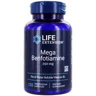 Life Extension - Mega Benfotiamine 250 mg. - 120 Vegetarian Capsules, from category: Vitamins & Minerals