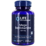 Image of Life Extension - Mega Benfotiamine 250 mg. - 120 Vegetarian Capsules
