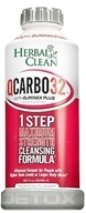 BNG Enterprises - Herbal Clean QCarbo32 with Eliminex Mega Strength Cleansing Formula Tropical Flavor - 32 oz.