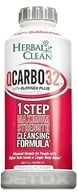 Image of BNG Enterprises - Herbal Clean QCarbo32 with Eliminex Mega Strength Cleansing Formula Tropical Flavor - 32 oz.