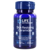 Life Extension - Skin Restoring Phytoceramides with Lipowheat 350 mg. - 30 Liquid Capsules - $18.75