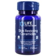 Life Extension - Skin Restoring Phytoceramides with Lipowheat 350 mg. - 30 Liquid Capsules (737870159636)