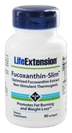 Life Extension - Fucoxanthin-Slim Non-Stimulant Thermogenic - 90 Softgels by Life Extension