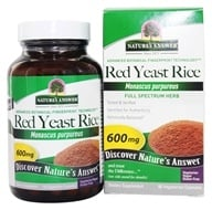 Image of Nature's Answer - Red Yeast Rice Dietary Supplement - 90 Capsules